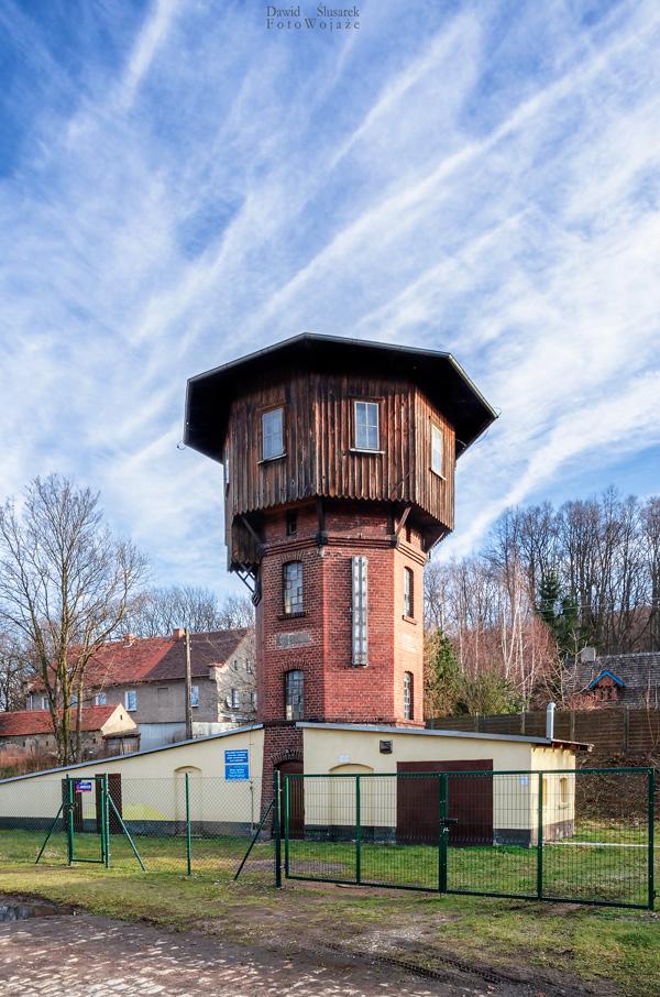 wieża wodna zagórze