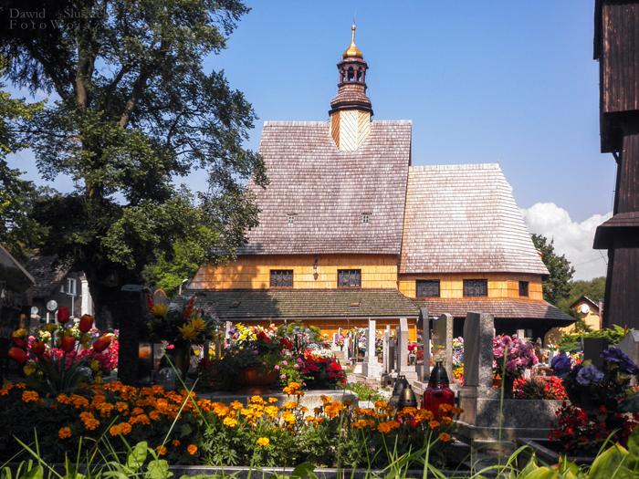 kościoły drewniane na śląsku  poniszowice