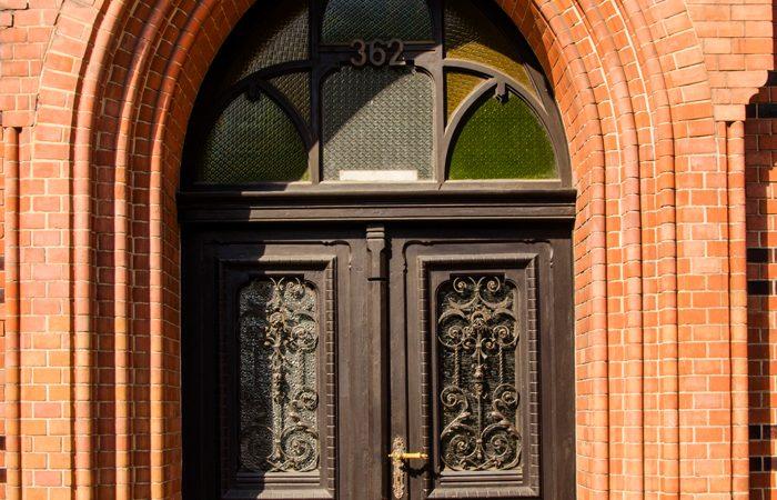 zabytkowe drzwi w zabrzu