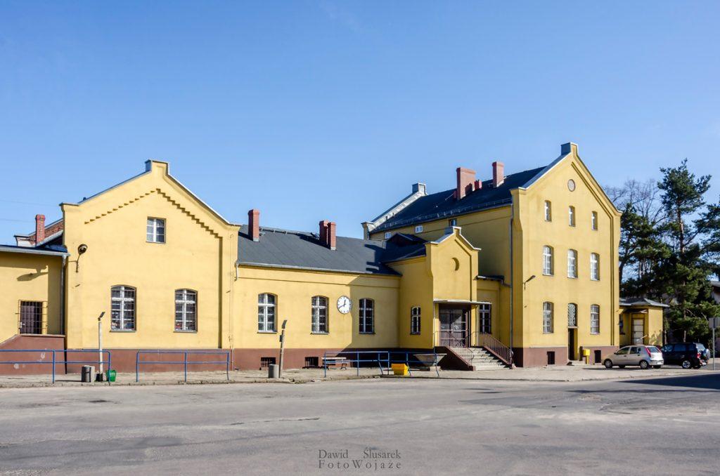 gryfów śląski dworzec kolejowy