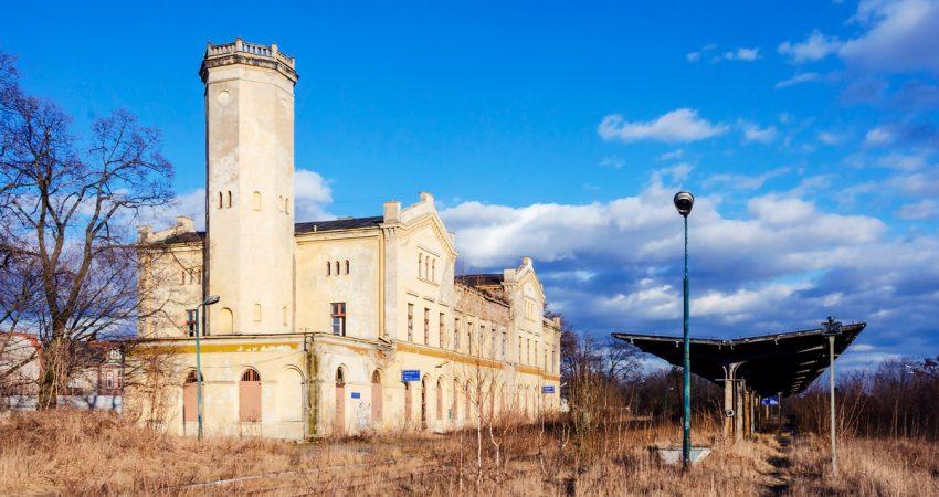 stacja kolejowa głubczyce