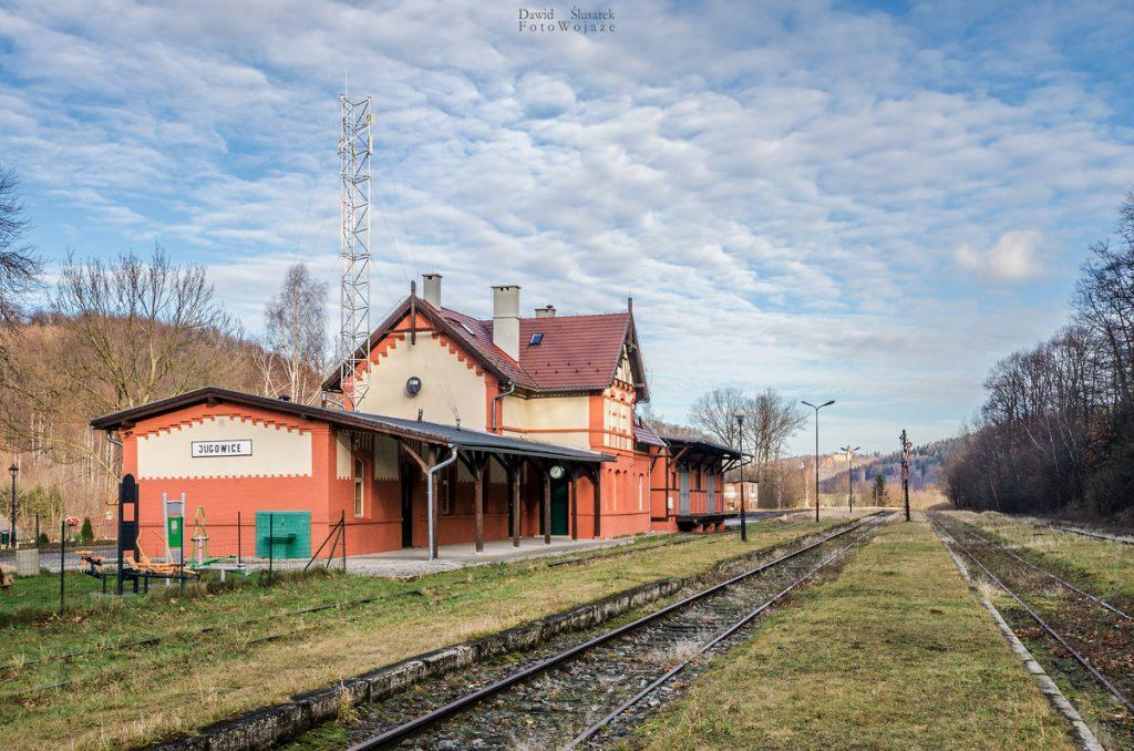 stacja kolejowa jugowice