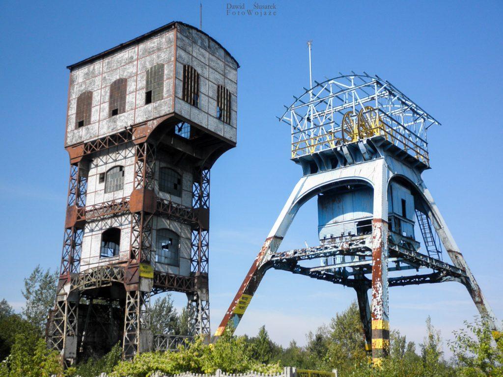 wieże kopalni polska