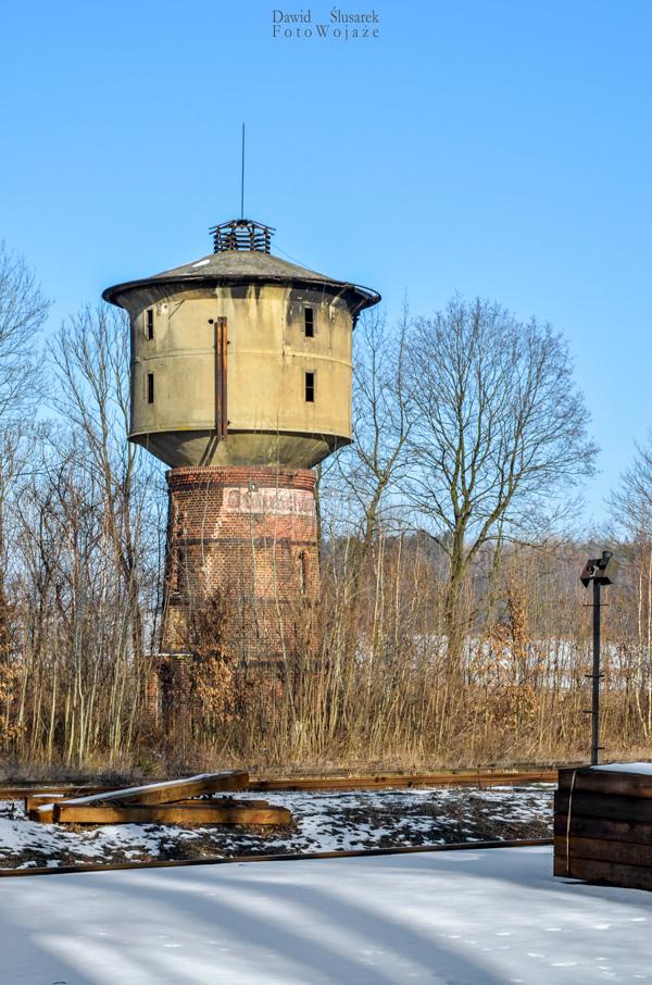 wieża wodna stacja otmuchów