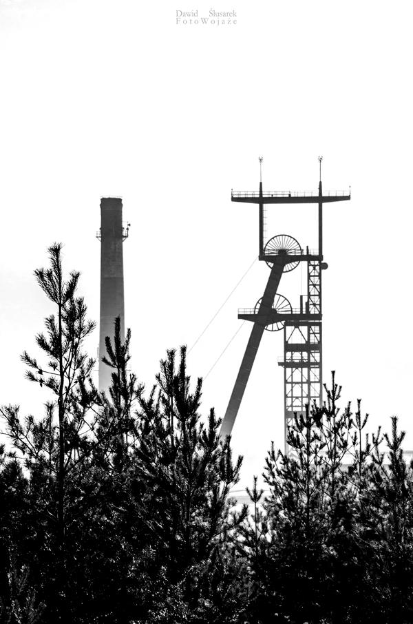 kopalnia murcki wieża szybowa
