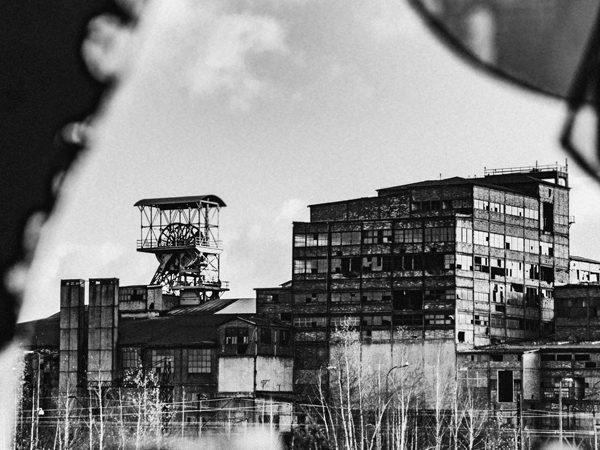 wieża szybowa łokietek kopalnia mysłowice