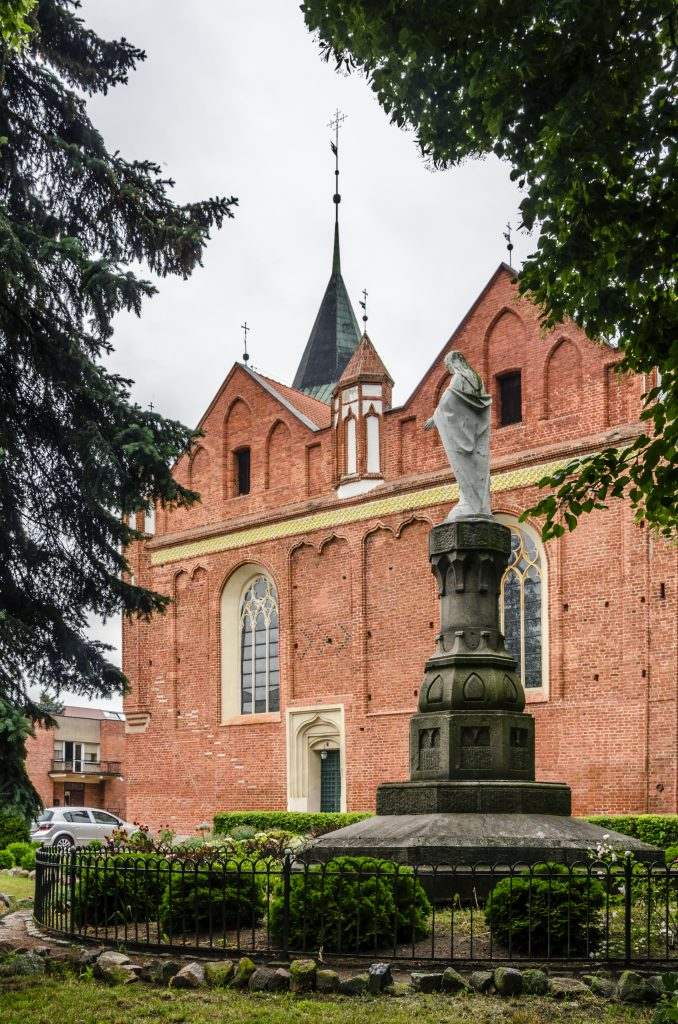 kościół w malborku