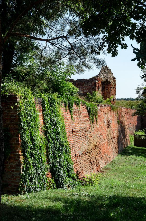 mury obronne danków