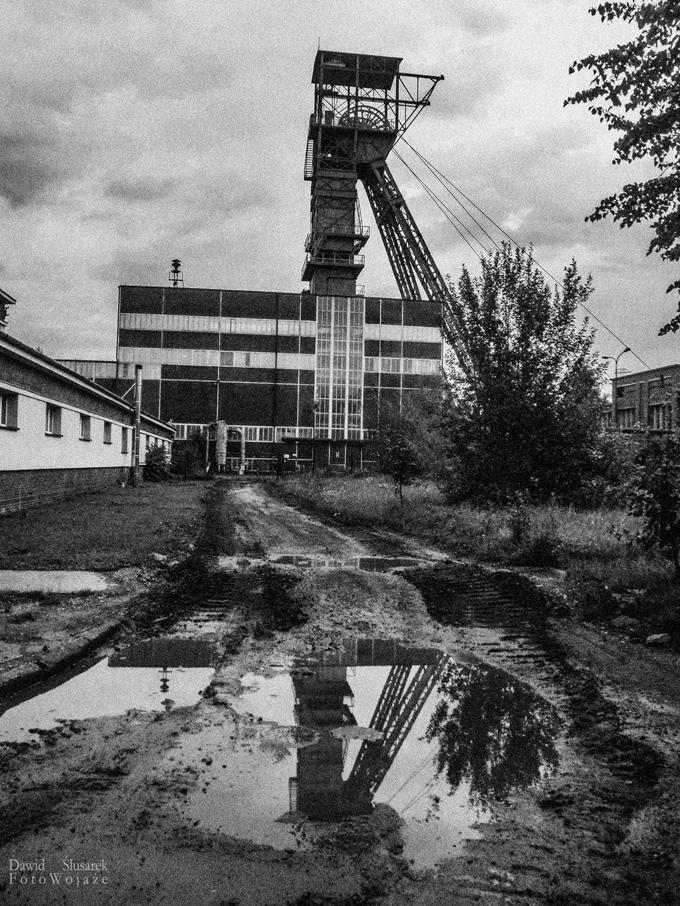 kopalnia brzeszcze wieża szybowa