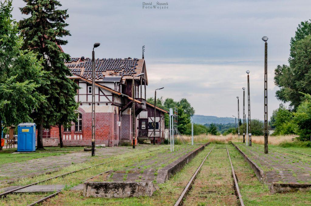 dworzec kolejowy w tolkmicku