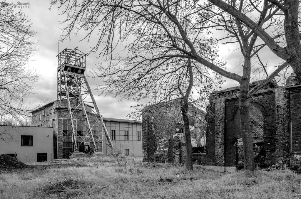 kopalnia walenty wieża szybowa