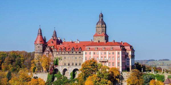 co warto zobaczyć w okolicy wałbrzycha - zamek książ
