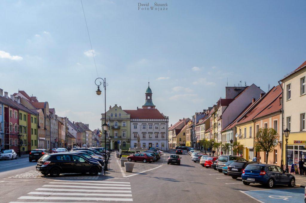stare miasto w środzie śląskiej