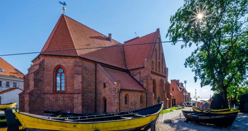 stary hel oraz dawny kościół