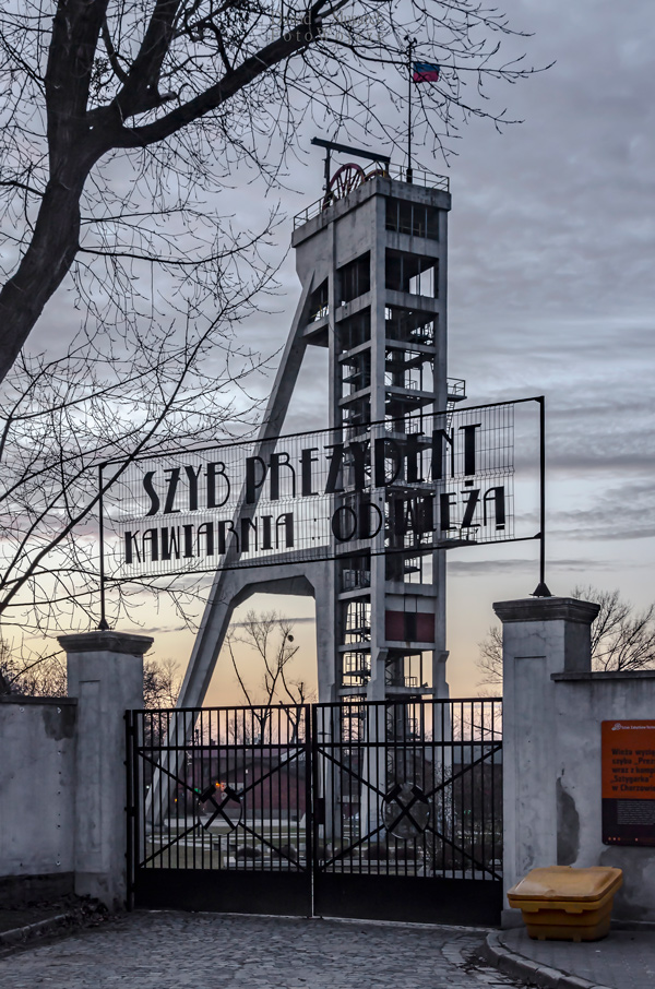 wieże górnicze które warto zobaczyć na śląsku - szyb prezydent