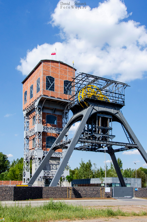 wieże górnicze które warto zobaczyć na śląsku - dwie wieże w świętochłowicach