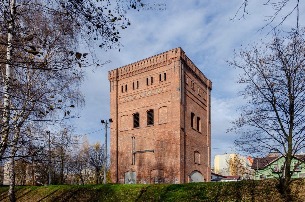 wieże górnicze które warto zobaczyć na śląsku - szyb andrzej w rudzie śląskiej