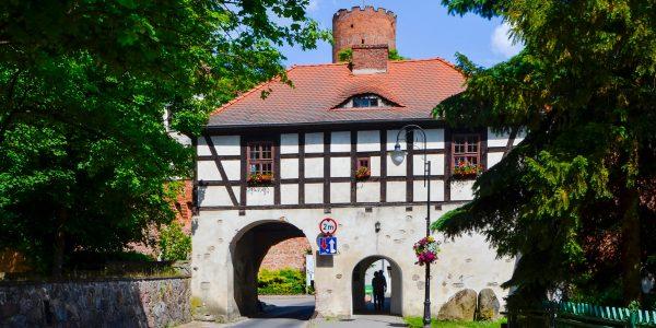 zamek w łagowie oraz brama marchijska