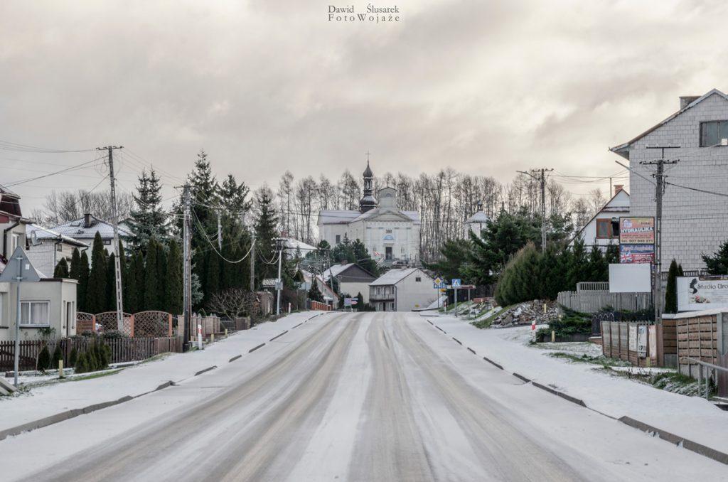 szlaki gór świętokrzyskich - bieliny