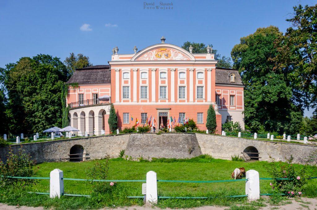 atrakcje kurozwęk - pałac