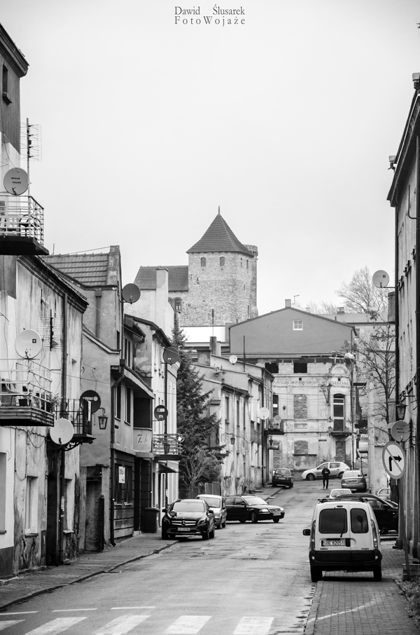 stare miasto w będzinie